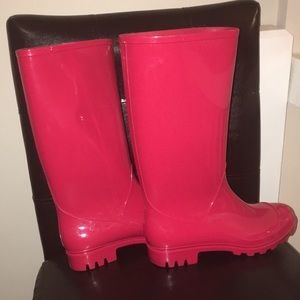 0489e9ca680e jcpenney Shoes - Red Rain Boots!! 👢 👢